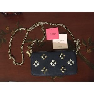 NWT ♠️ Kate Spade Margaux Floral Double Zip Mini